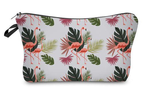 Flamingo Makeup Bag
