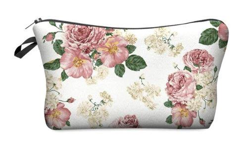 Floral Women's Cosmetics Pouch - HighSpirits Essentials