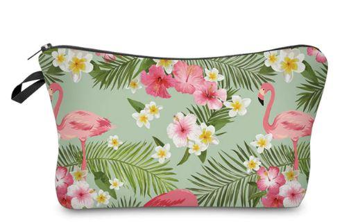 Flamingo Makeup Bag - HighSpirits Essentials