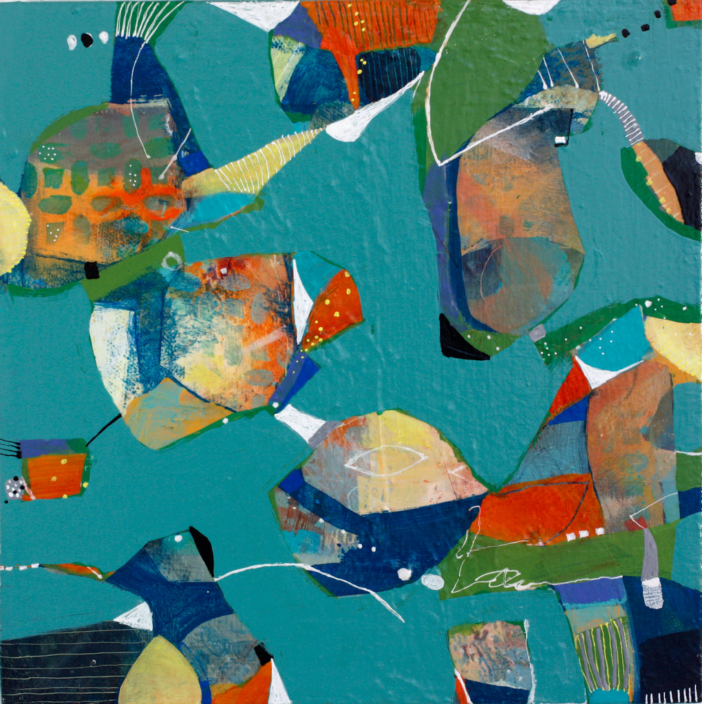 Child's Play - Mandy-Bankson - colorful contemporary abstract paintings and archival prints