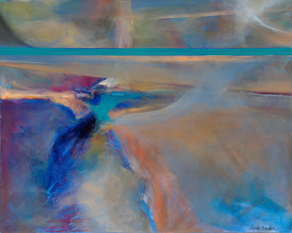 Deep Places - Mandy-Bankson - colorful contemporary abstract paintings and archival prints