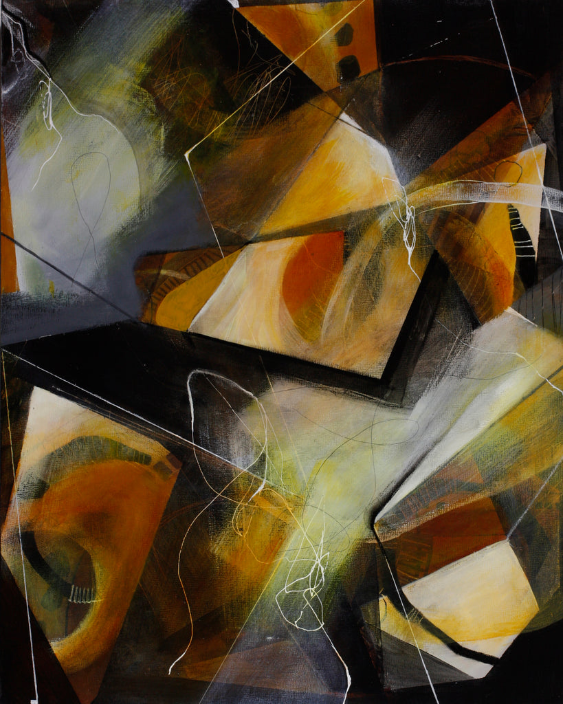 Everything Is Not As It Seems - Mandy-Bankson - colorful contemporary abstract paintings and archival prints