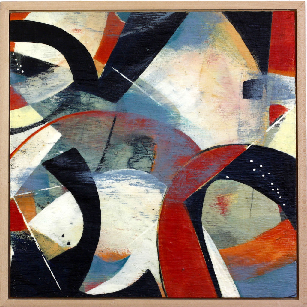 Here and Now - Mandy-Bankson - colorful contemporary abstract paintings and archival prints