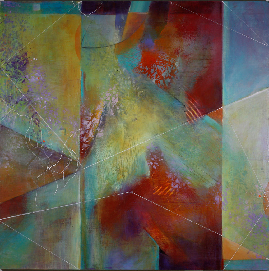 Interior - Mandy-Bankson - colorful contemporary abstract paintings and archival prints