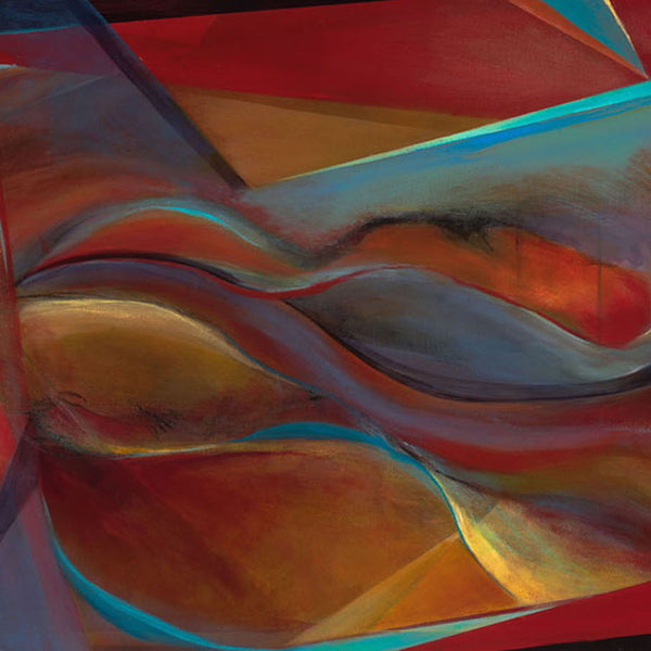 Life Inside - Mandy-Bankson - colorful contemporary abstract paintings and archival prints
