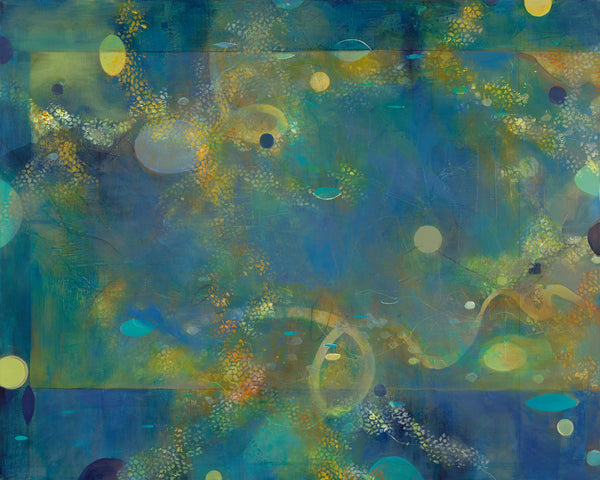 Sea Dreams - Mandy-Bankson - colorful contemporary abstract paintings and archival prints