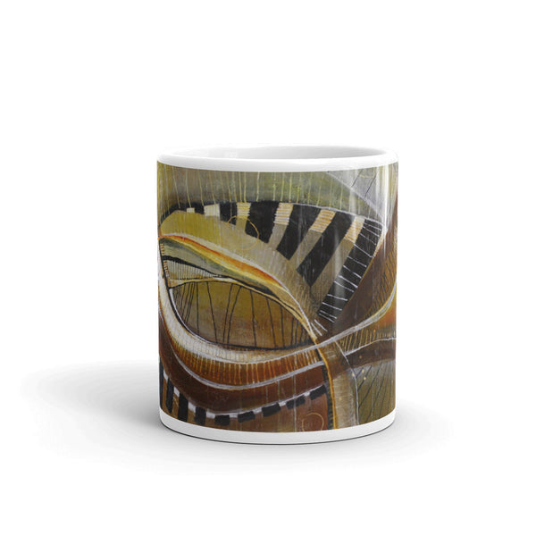 """Keys of Life"" Mug - Mandy-Bankson - colorful contemporary abstract paintings and archival prints"