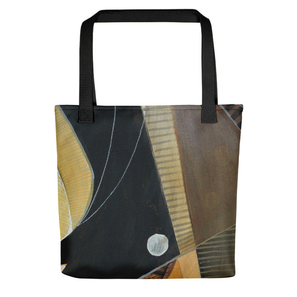 """Inside"" Tote bag - Mandy-Bankson - colorful contemporary abstract paintings and archival prints"