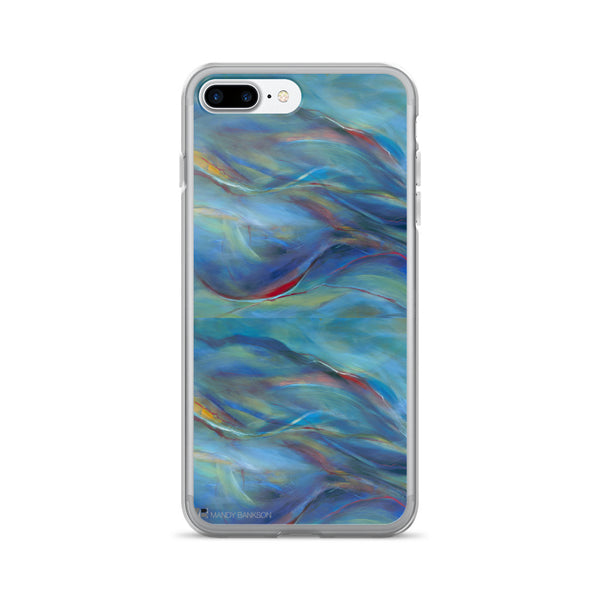 iPhone 7/7 Plus Case - Mandy-Bankson - colorful contemporary abstract paintings and archival prints