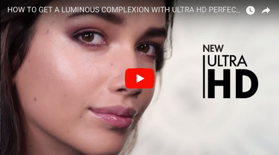 HOW TO GET A LUMINOUS COMPLEXION WITH ULTRA HD PERFECTOR AND SOFT LIGHT | MAKE UP FOR EVER HD