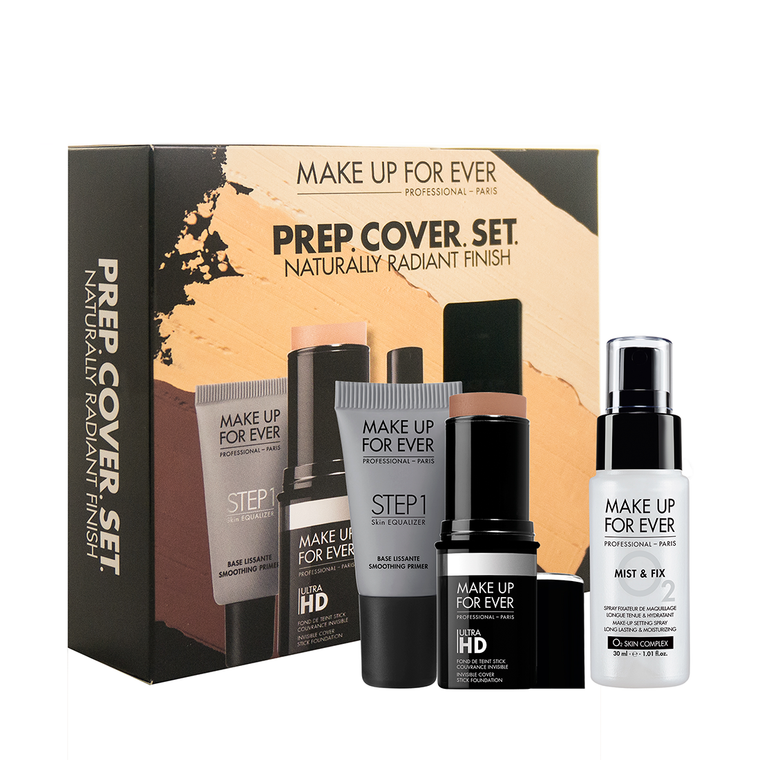 PREP. COVER. SET. Customizable Ultra HD Stick Foundation Set (₱4600 value)