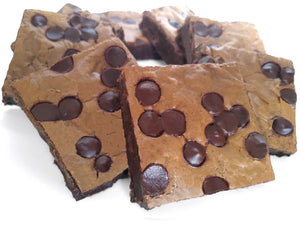 Thinking of You Chocolate Chip Brownies Going Away / Moving Away Favor Gift Box