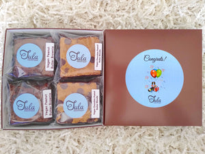 Vegan Congratulations Peanut Butter Bar Lovers Baked Goods Food Gift Box