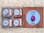 Vegan Easter Eggs Chocolate Chip Brownies Gourmet Food Gift Box / Non-Dairy Sweet Treats