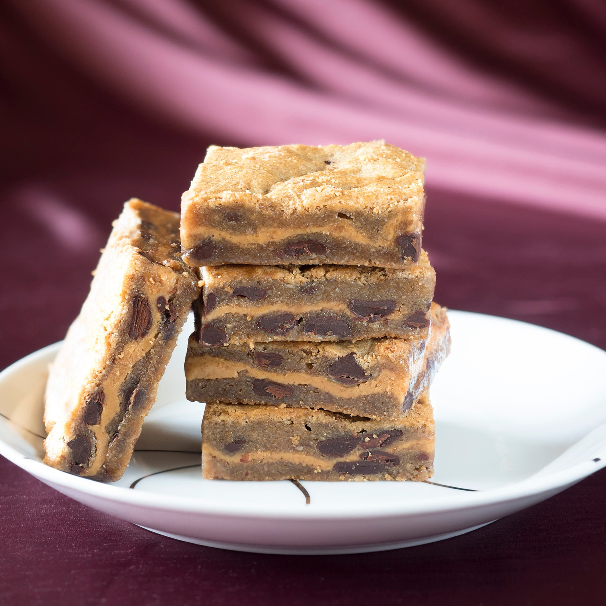 Gluten Free Chocolate Peanut Butter Blondie