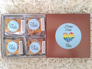Gluten Free Happy Pride Chocolate Salted Caramel Blondie Gift Box