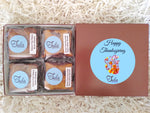 Gluten Free Happy Thanksgiving Peanut Butter Bar Lovers Baked Goods Food Gifts