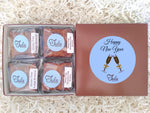Gluten Free New Year Flourless Chocolate Lover Bars Gourmet Favors Pastry Gift Box