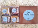 Vegan Personalized Gourmet Bars Variety Sampler Dessert Gift Box
