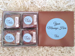 Vegan, Dairy Free Personalized Brownies Gourmet Gift Basket