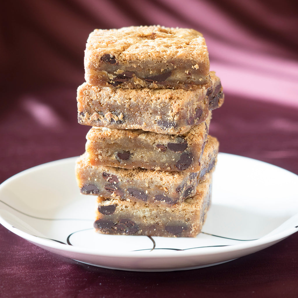 Chocolate Salted Caramel Blondie