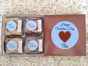 Valentines Day / I Love You More Gourmet Bars Favorites Nut-Free Desserts Gift Box