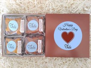 Gluten Free Valentines Day / I Love You More Gourmet Bars Favorites Peanut-Free Desserts Gift Box