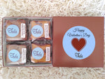 Gluten Free Valentines Hearts Peanut Butter Bar Lovers Bakery Favors Gift Box