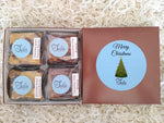 Christmas Eve Gourmet Bars Favorites Nut-Free Desserts Gift Box