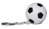 Novel Merk Single Pack Soccer Ball Keychains for Kids Party Favors & School Carnival Prizes