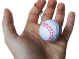 Novel Merk Single Baseball Keychain for Kids Party Favors & School Carnival Prizes