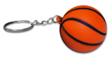 Novel Merk 6 Pack Sports Ball Keychains for Kids Party Favors & School Carnival Prizes Includes 6 Different Designs