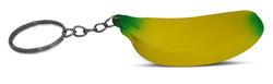 Novel Merk Yellow Banana Single Piece Fruit Keychains for Kids Party Favors & School Carnival Prizes