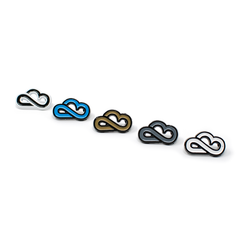 Cloud Culture | Accessories - Infinity Cloud Enamel Hat Pin (Variety)