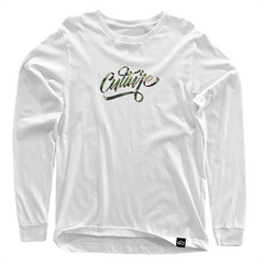 Cloud Culture | Clothing - Culture Script Long Sleeve (Camo)