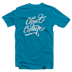 Cloud Culture | Clothing - Script T-Shirt (Teal)