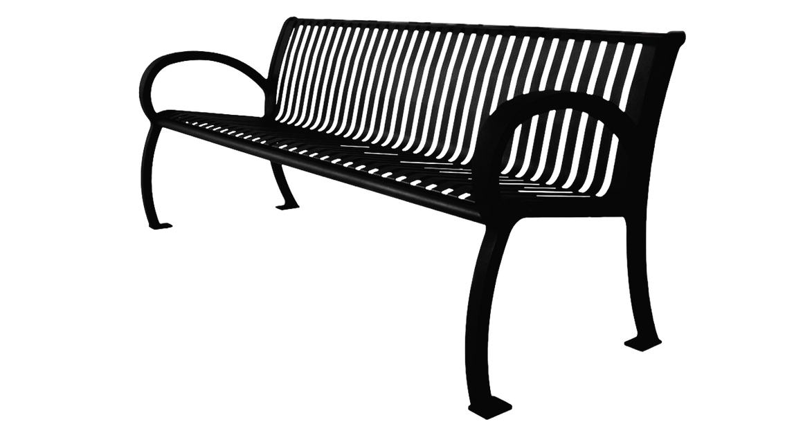 Architectural Bench - dog park products