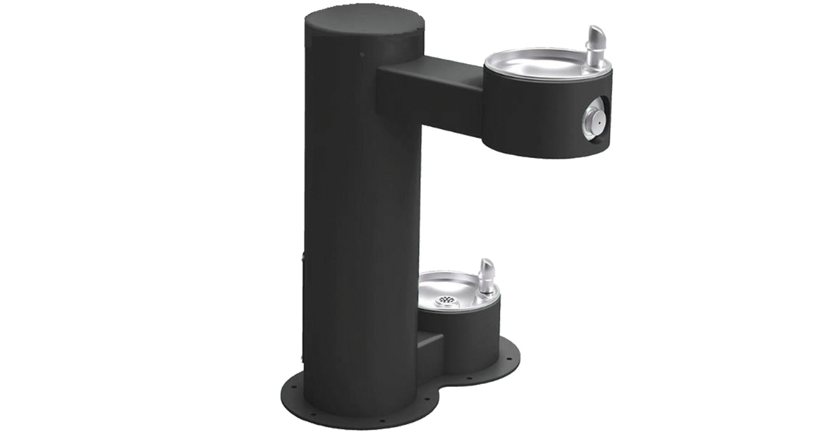 Cool Dog™ Architectural Series - Dual Basin Dog Water Fountain - dog park products