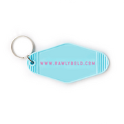 RB Motel Key Chain