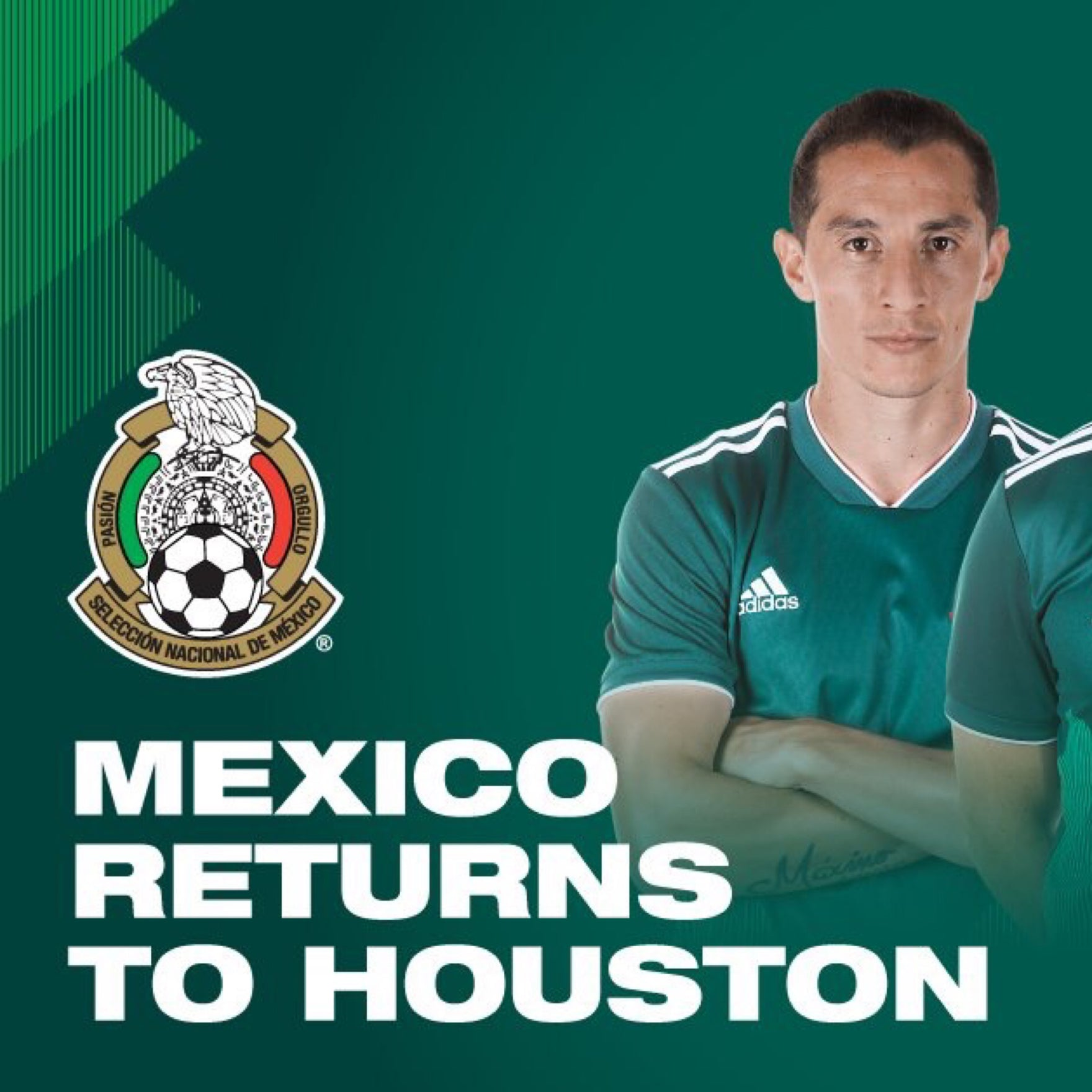 Houston to Host Mexico in September!