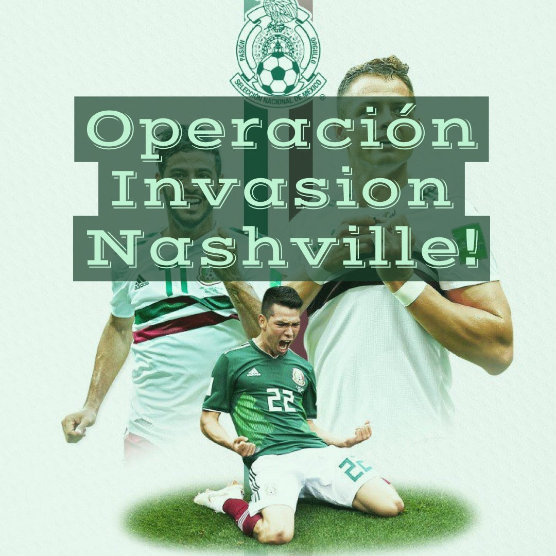 La Porra de Mexico Travels for US Match in Nashville