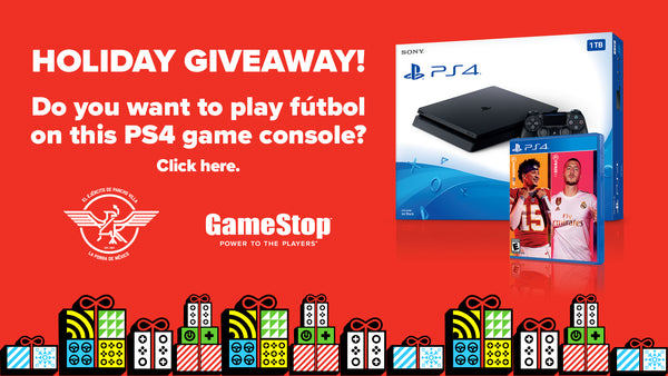 Win a PS4 with GameStop and Pancho Villas Army