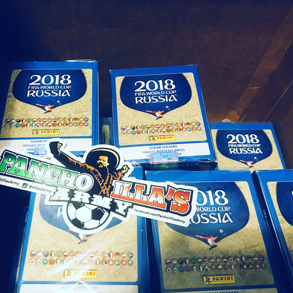 Panini America and Pancho Villas Army Partner Ahead of World Cup