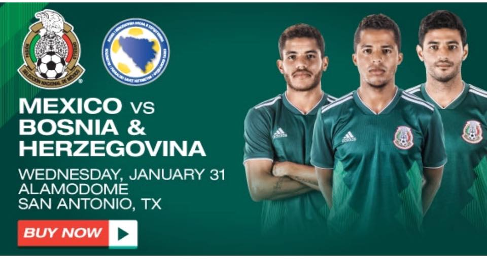 Mexico Announces Opponent for San Antonio Match