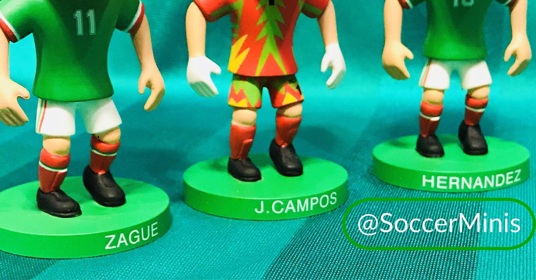 Up to 40% Discount Off Soccer Mini Figures For PVA Members!