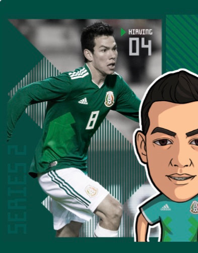 brand new a42ee 3f8b5 Collectors Edition Soccer Minis Hirving Lozano