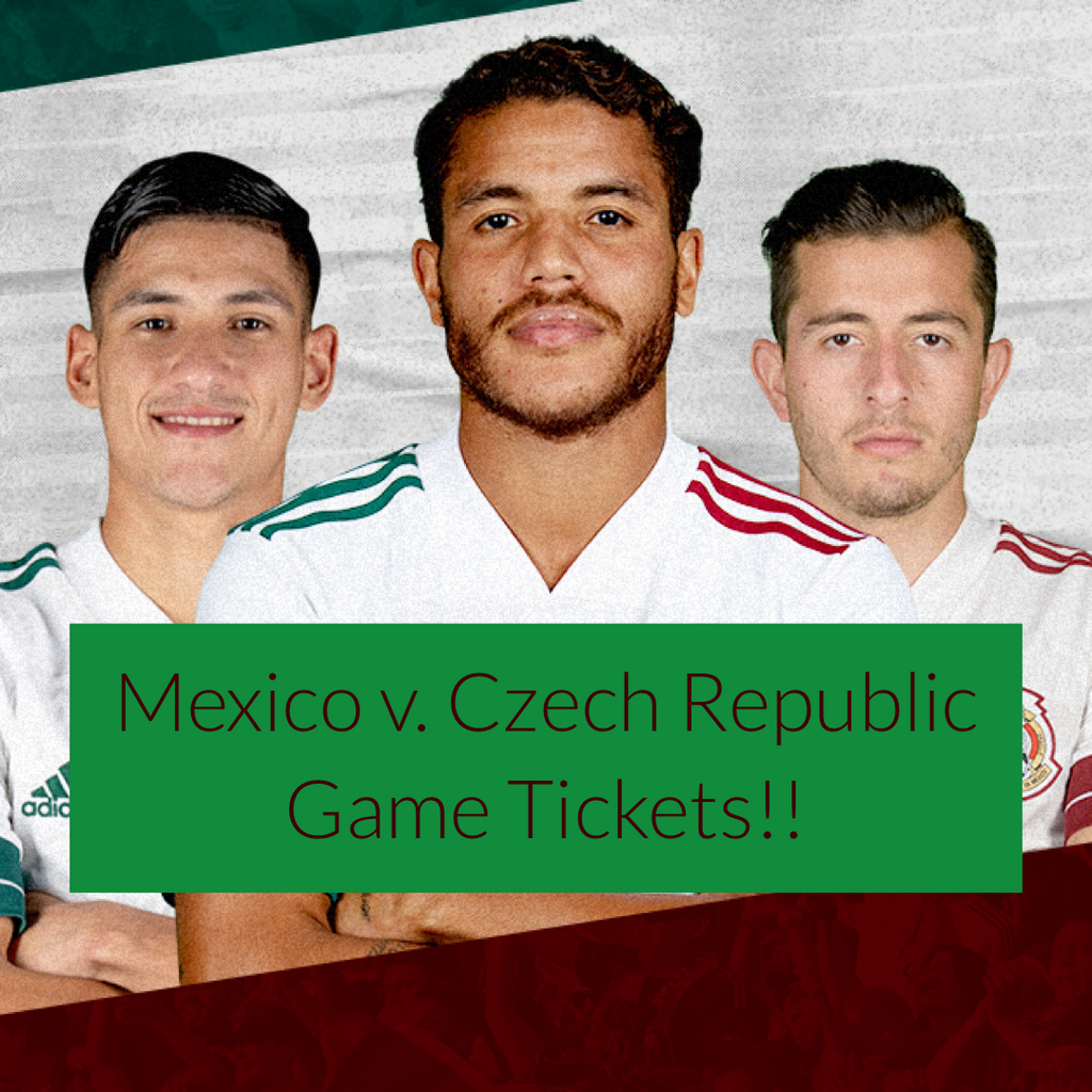 Mexico Soccer Tickets - Charlotte NC - March 26 2020
