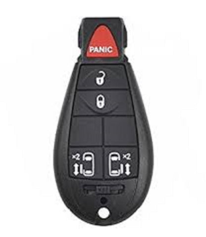 Chrysler - Dodge - Fobik Remote Key - 5 Button