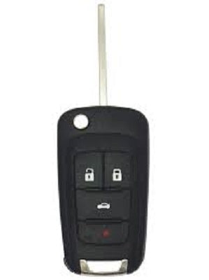 Buick - Chevrolet - GM - Remote Flip Key 4 Button