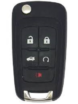 Buick - Chevrolet - GM - Remote Flip-Key,  FP5 5 Button, REMOTE START